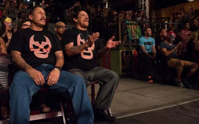 Danny Trejo Audience Lucha Underground